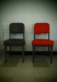 Beautiful old chair couple