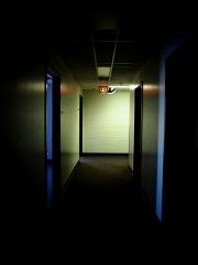 Ominous hallway