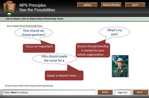 screenshot of previous ask an expert page